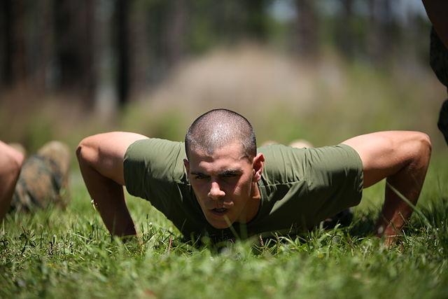 extreme workout pushup